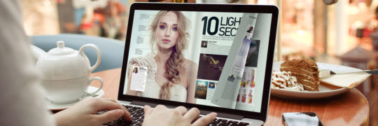 how to create a digital magazine